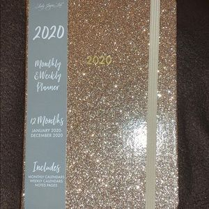 2020 Monthly and weekly planner
